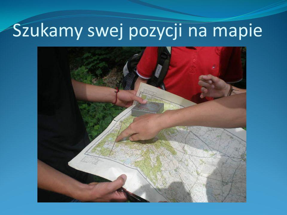 Szukamy swej pozycji na mapie