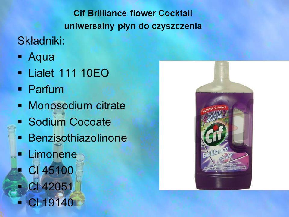 Cif Brilliance flower Cocktail uniwersalny płyn do czyszczenia