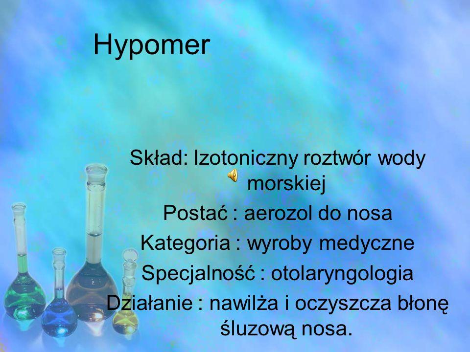 Hypomer