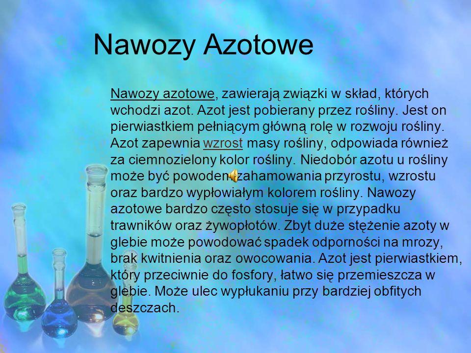 Nawozy Azotowe