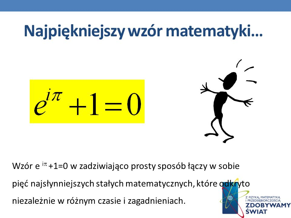 Najpiękniejszy wzór matematyki…