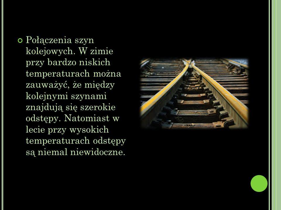 Połączenia szyn kolejowych