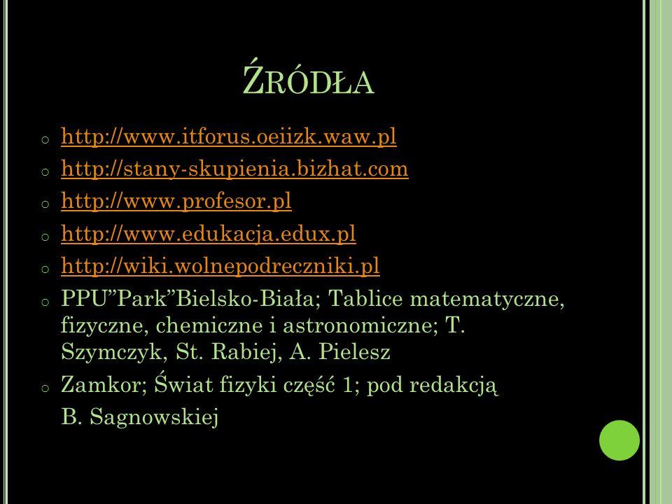 Źródła http://www.itforus.oeiizk.waw.pl