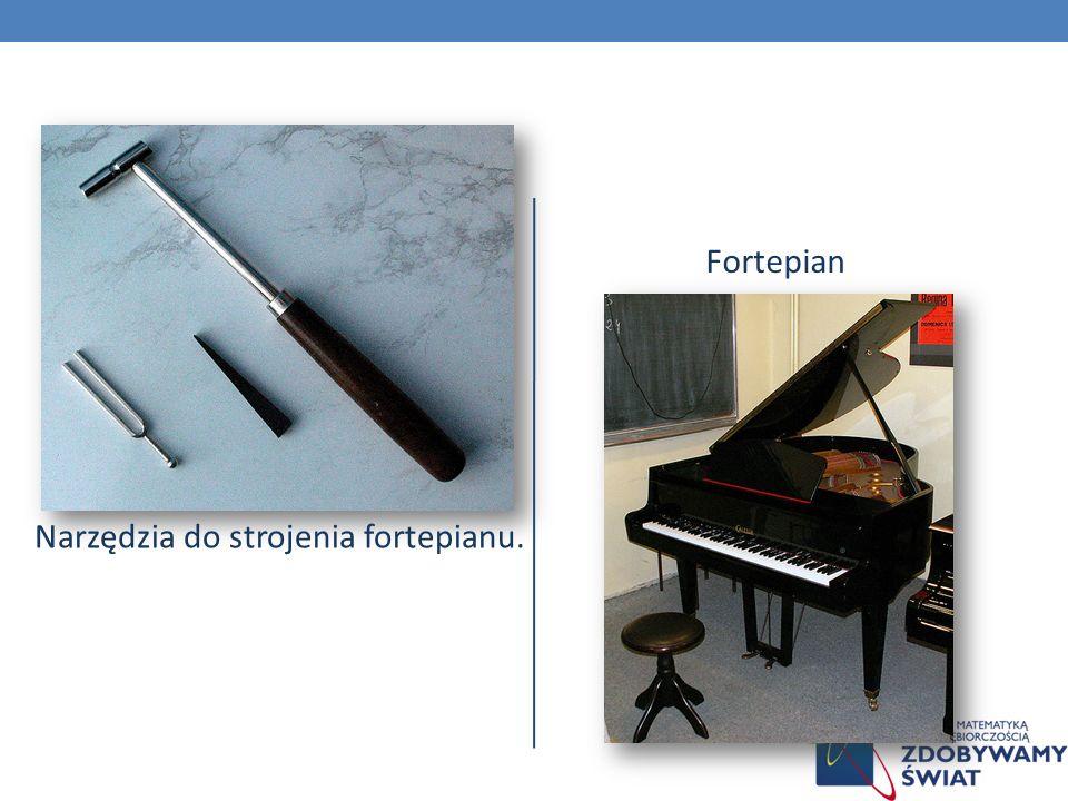 Narzędzia do strojenia fortepianu.