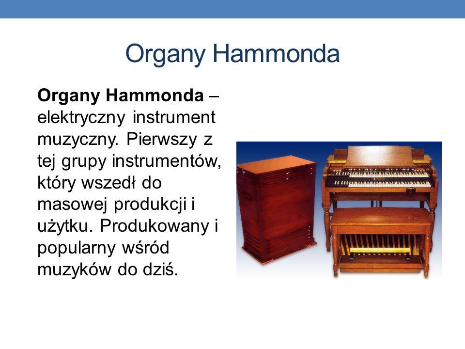 Organy Hammonda