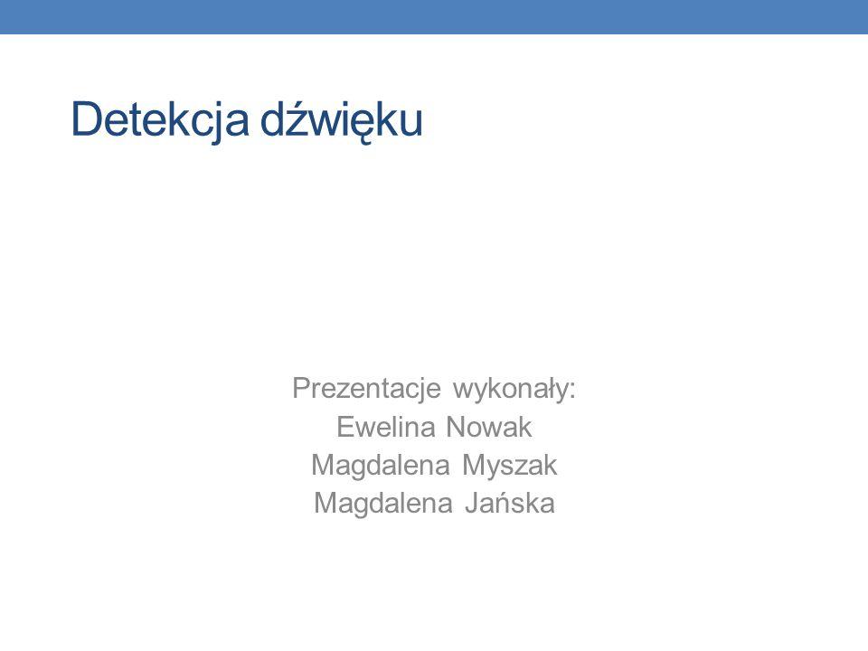 Prezentacje wykonały: Ewelina Nowak Magdalena Myszak Magdalena Jańska