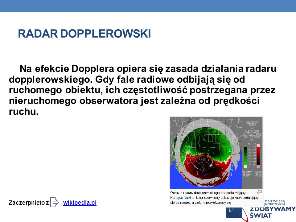 Radar dopplerowski