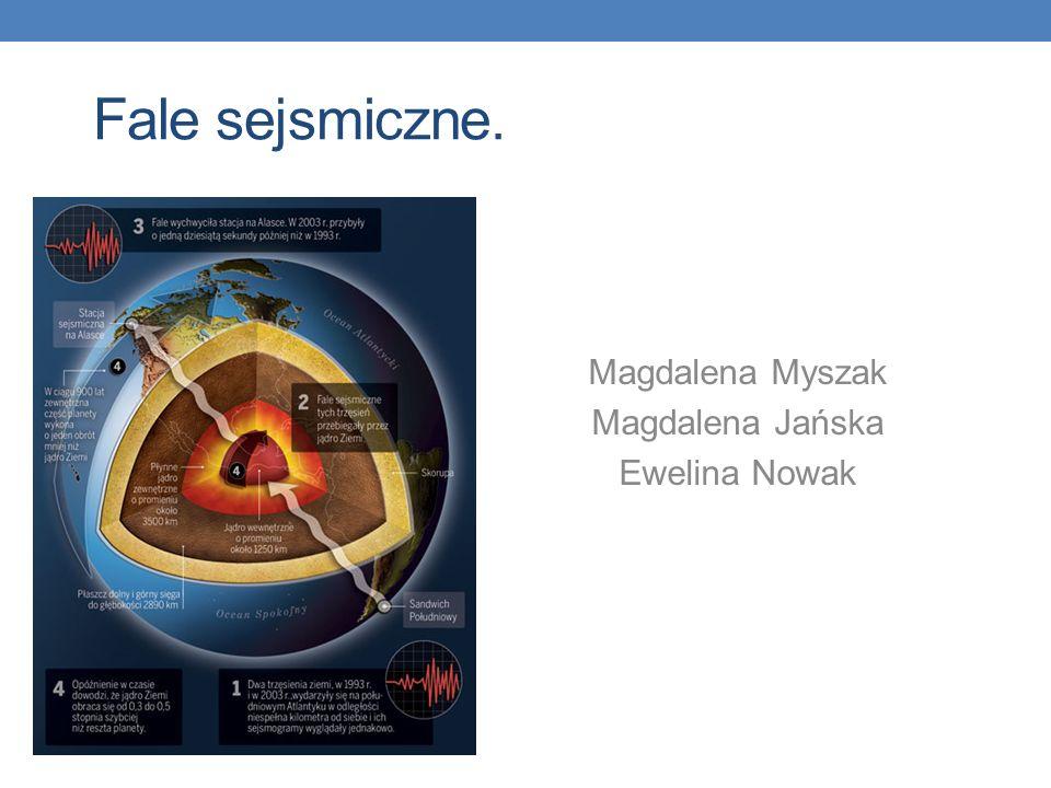 Magdalena Myszak Magdalena Jańska Ewelina Nowak