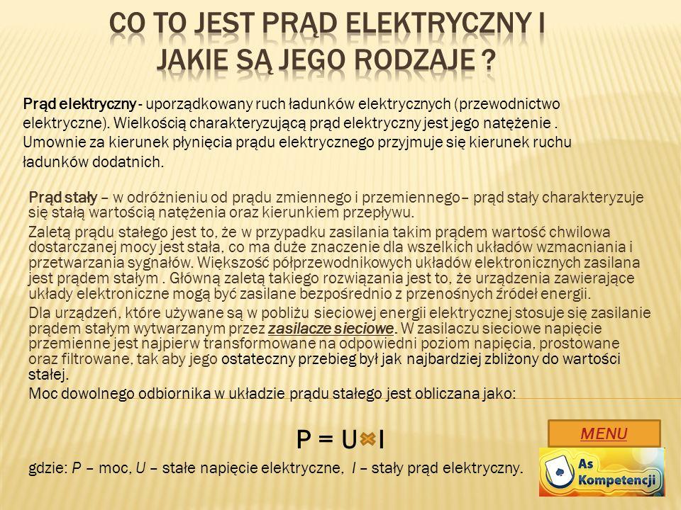 Co to jest prąd elektryczny i jakie są jego rodzaje