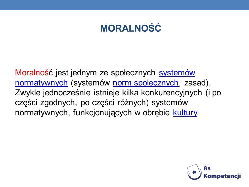 Moralność