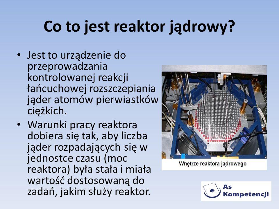 Co to jest reaktor jądrowy
