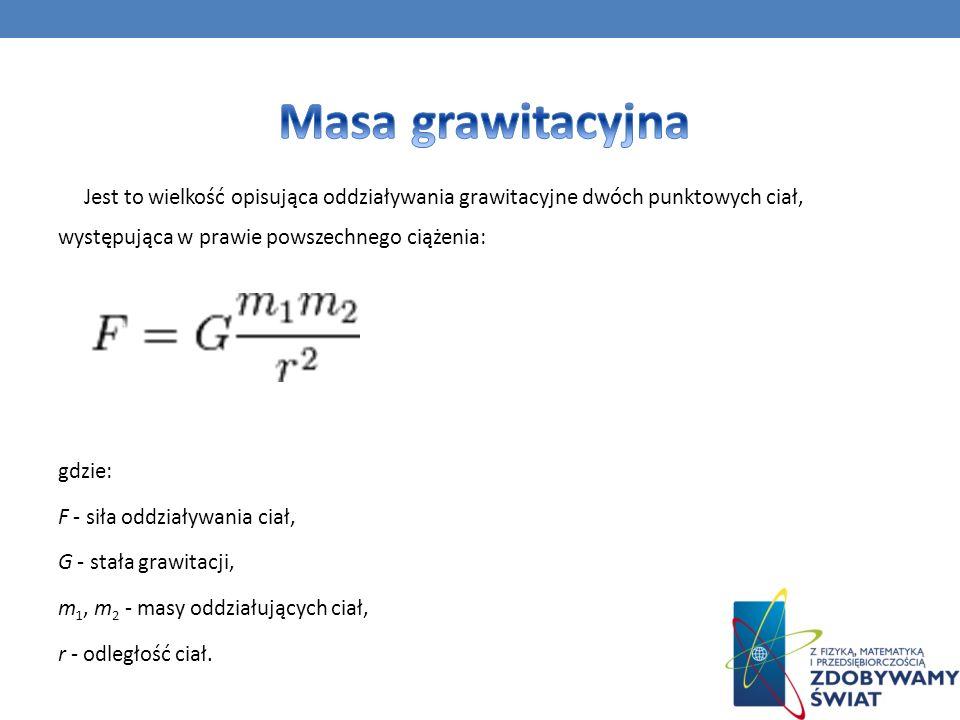 Masa grawitacyjna