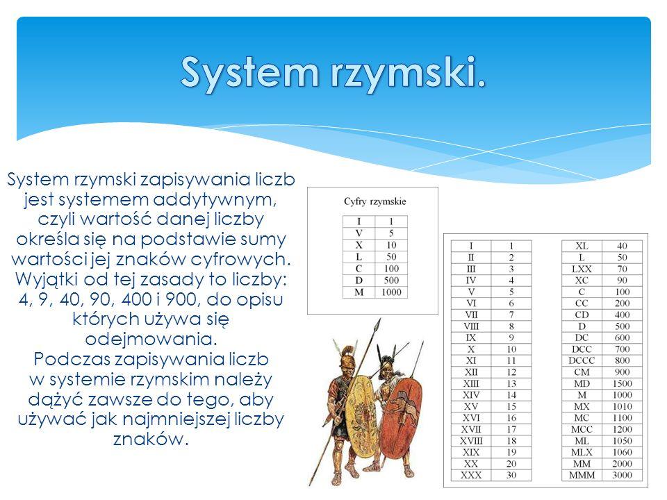 System rzymski.