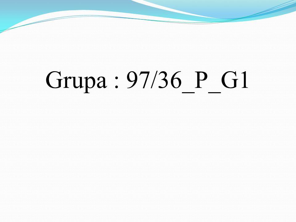 Grupa : 97/36_P_G1