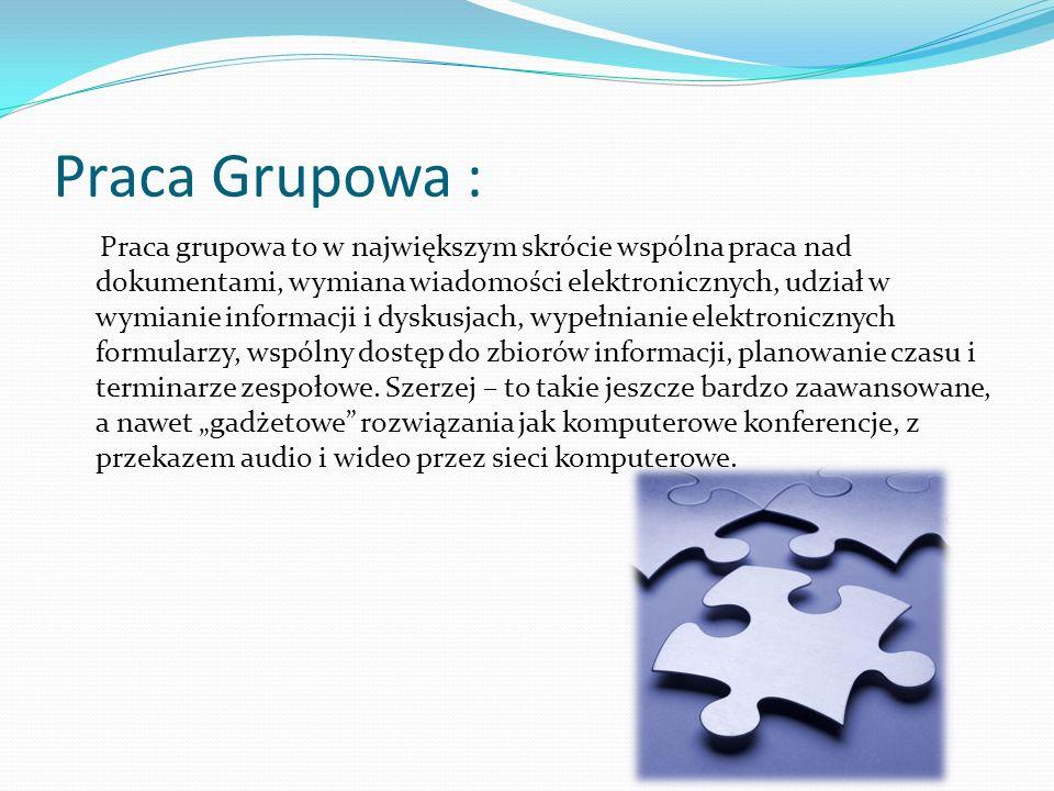 Praca Grupowa :