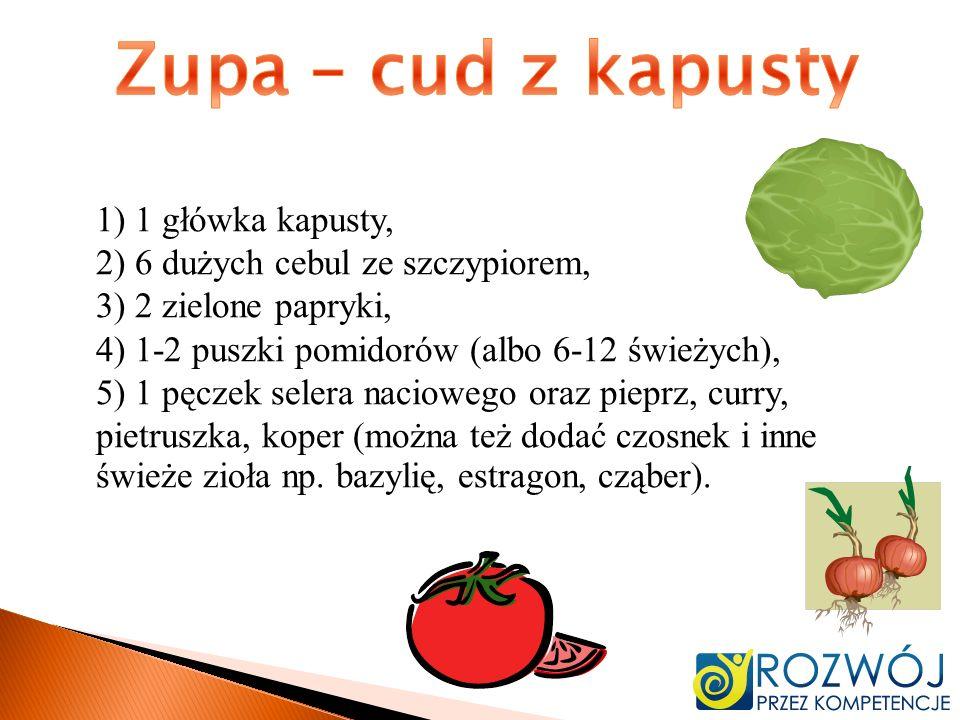 Zupa – cud z kapusty