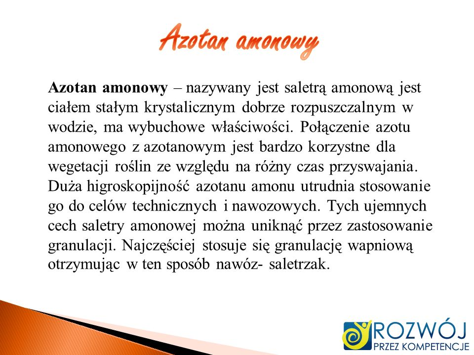 Azotan amonowy