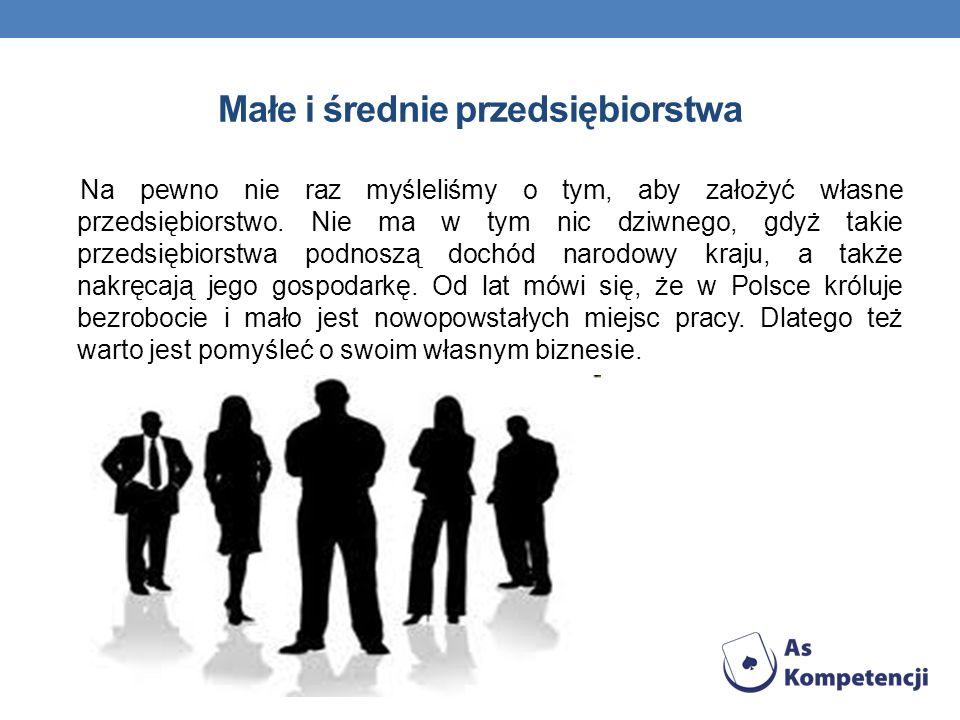 Małe i średnie przedsiębiorstwa