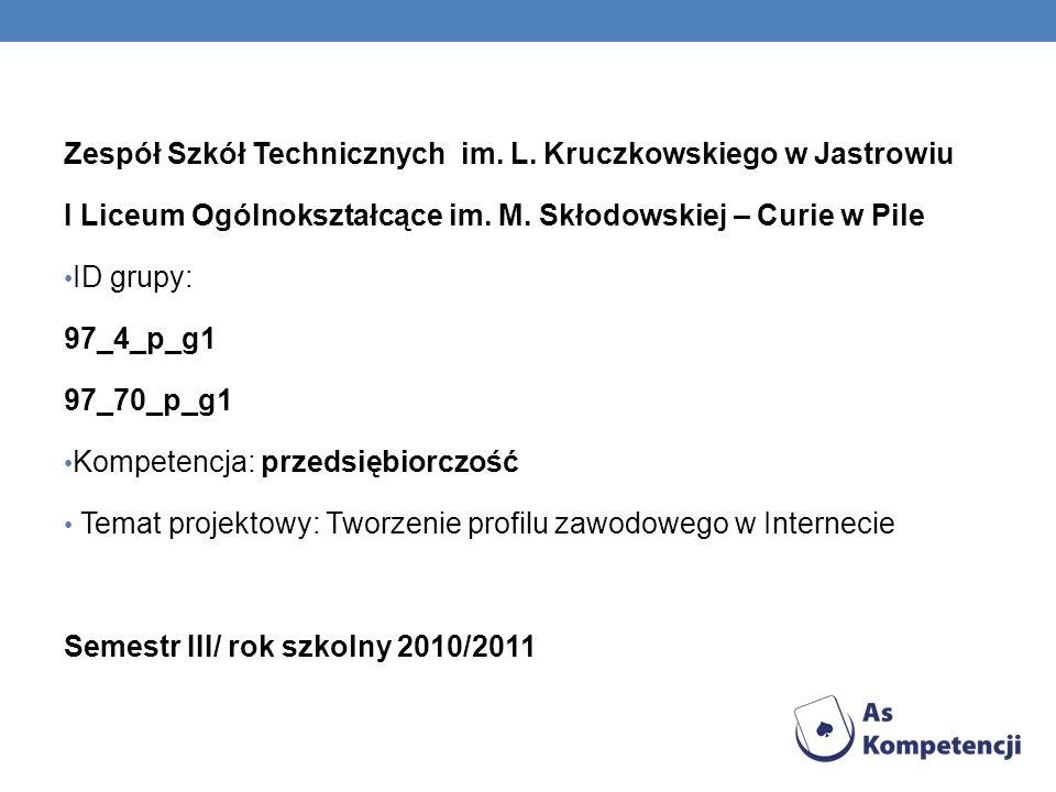 Zespół Szkół Technicznych im. L. Kruczkowskiego w Jastrowiu