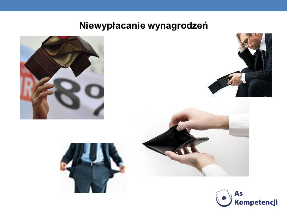 Niewypłacanie wynagrodzeń