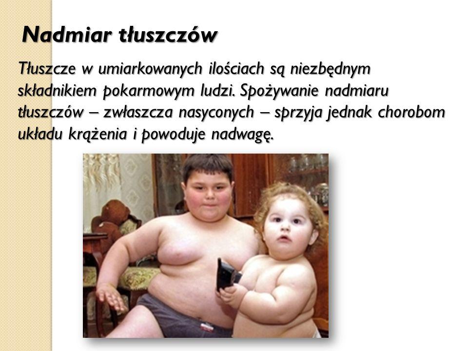 Nadmiar tłuszczów