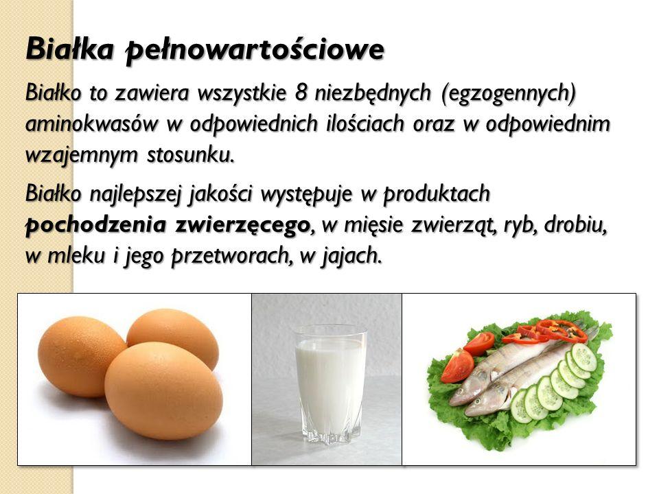 Białka pełnowartościowe