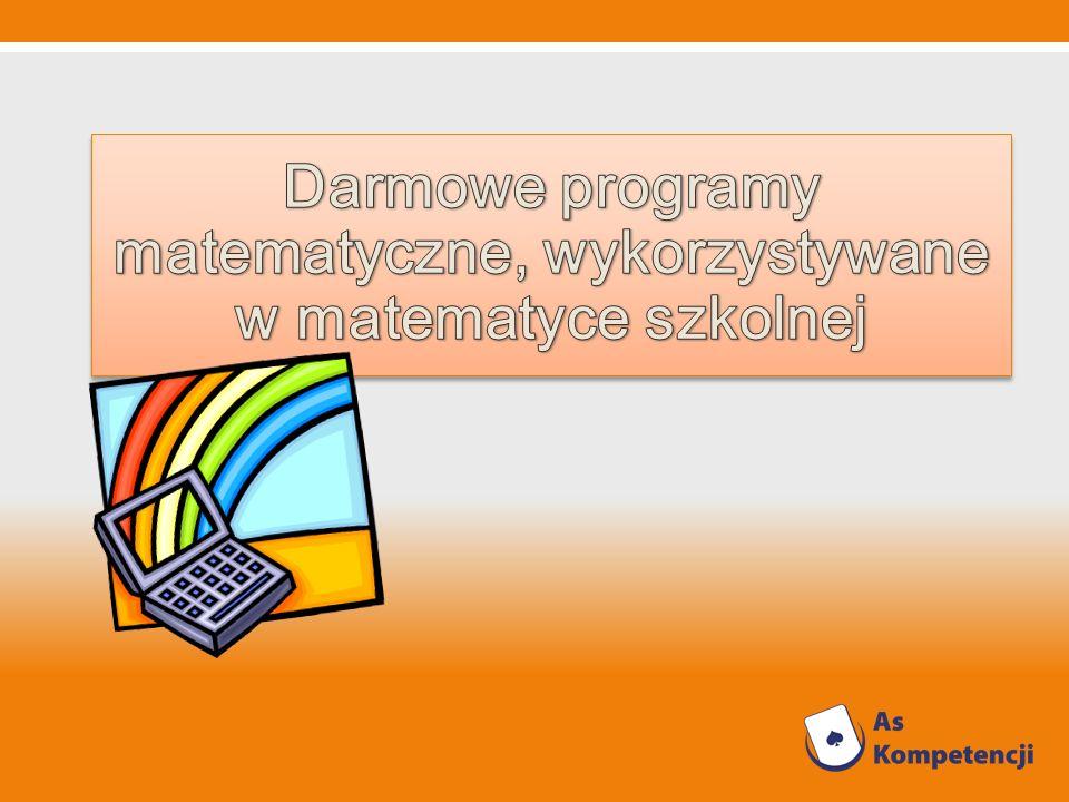 Darmowe programy matematyczne, wykorzystywane w matematyce szkolnej