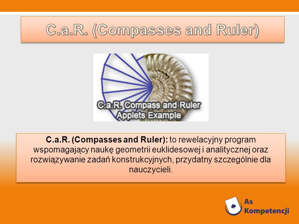 C.a.R. (Compasses and Ruler)