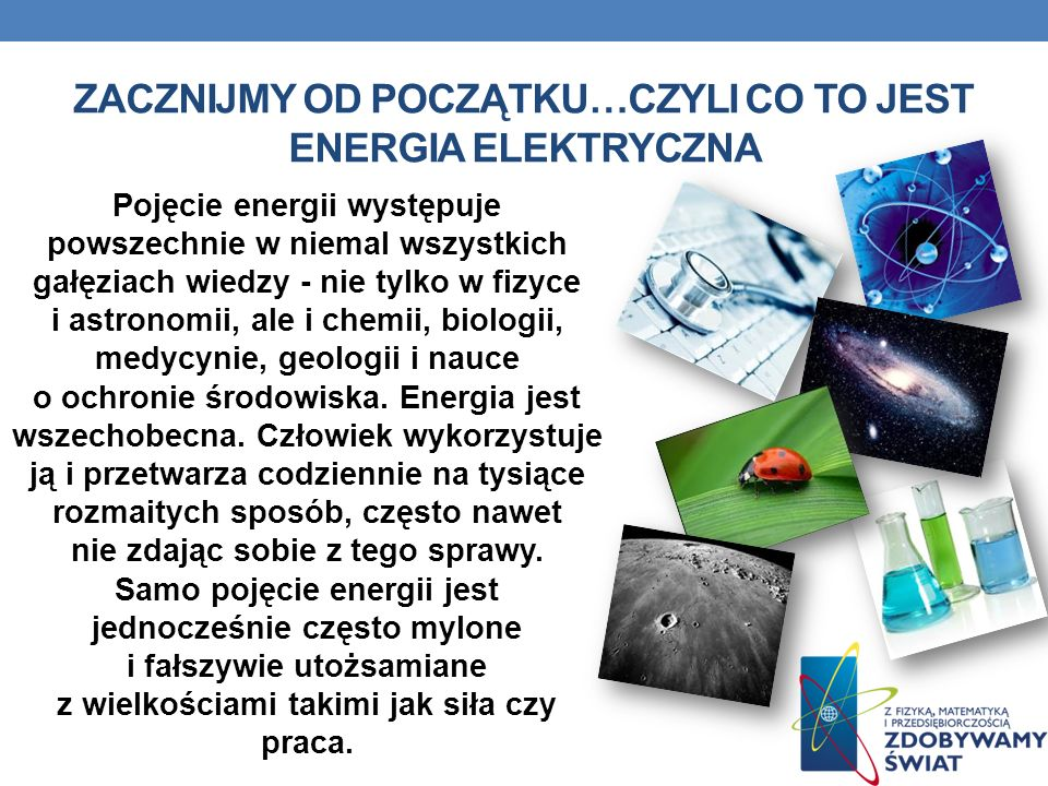 Zacznijmy od początku…czyli co to jest Energia elektryczna