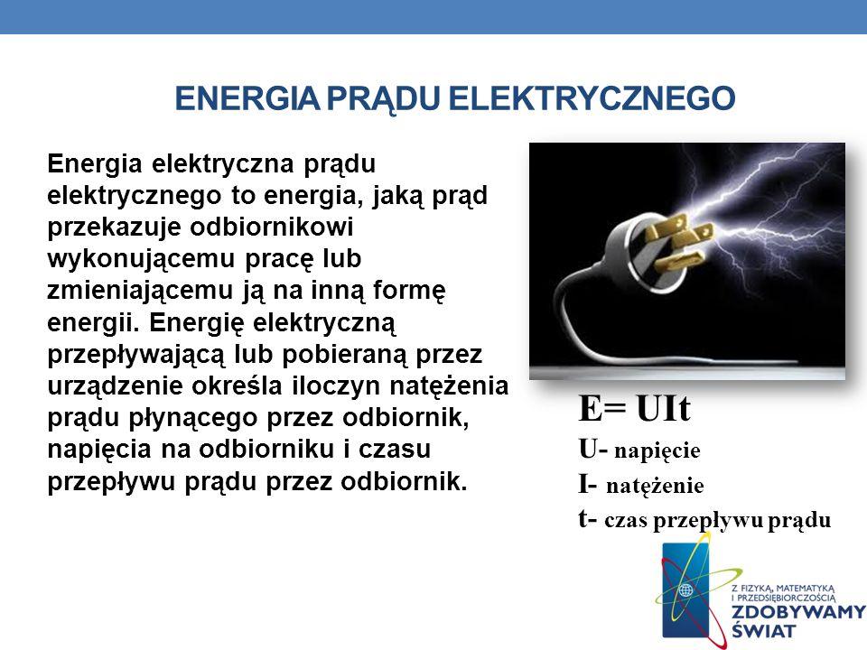 Energia prądu elektrycznego