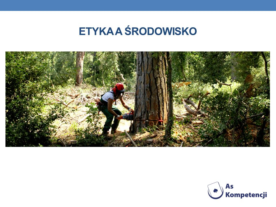 Etyka a środowisko