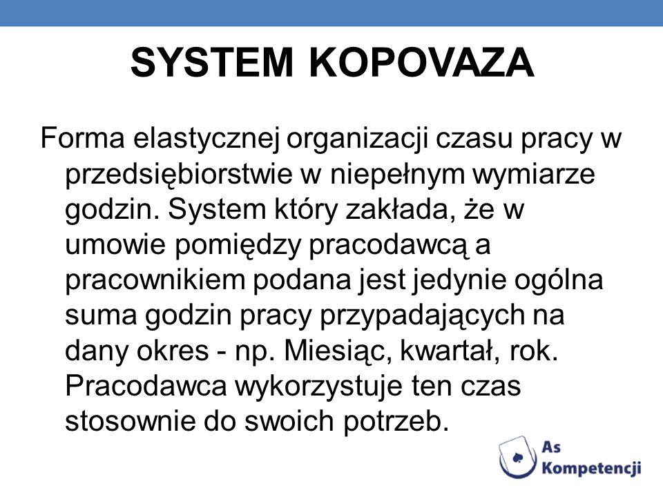SYSTEM KOPOVAZA