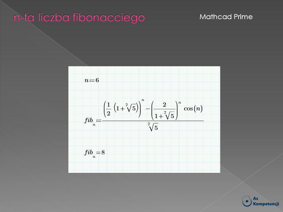 n-ta liczba fibonacciego