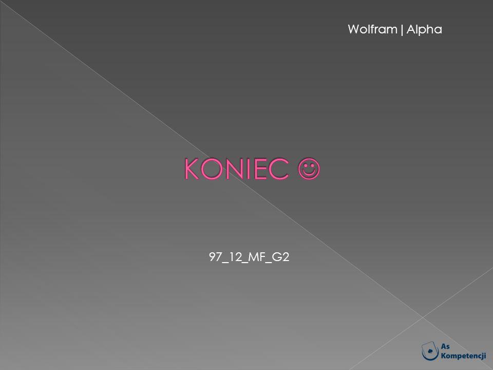Wolfram|Alpha KONIEC  97_12_MF_G2