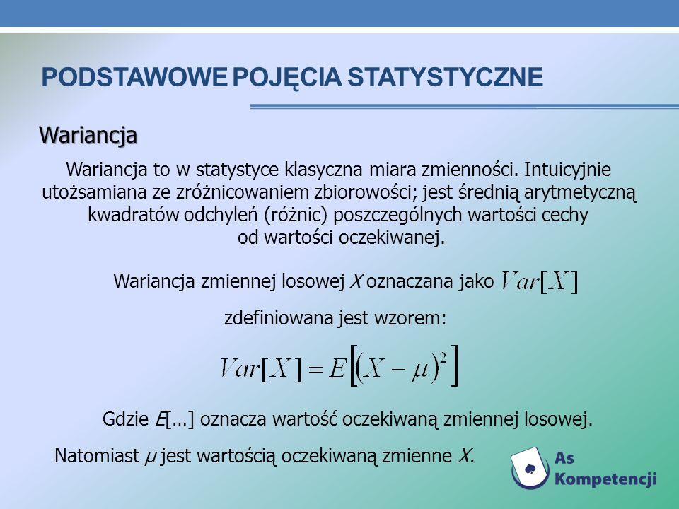 Podstawowe pojęcia statystyczne