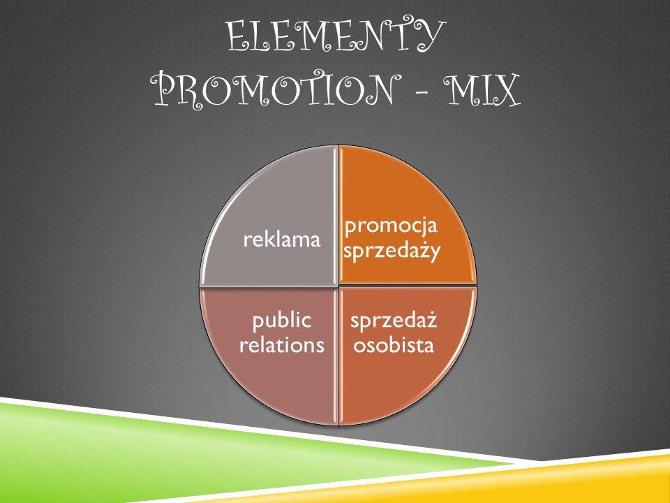 Elementy promotion - mix