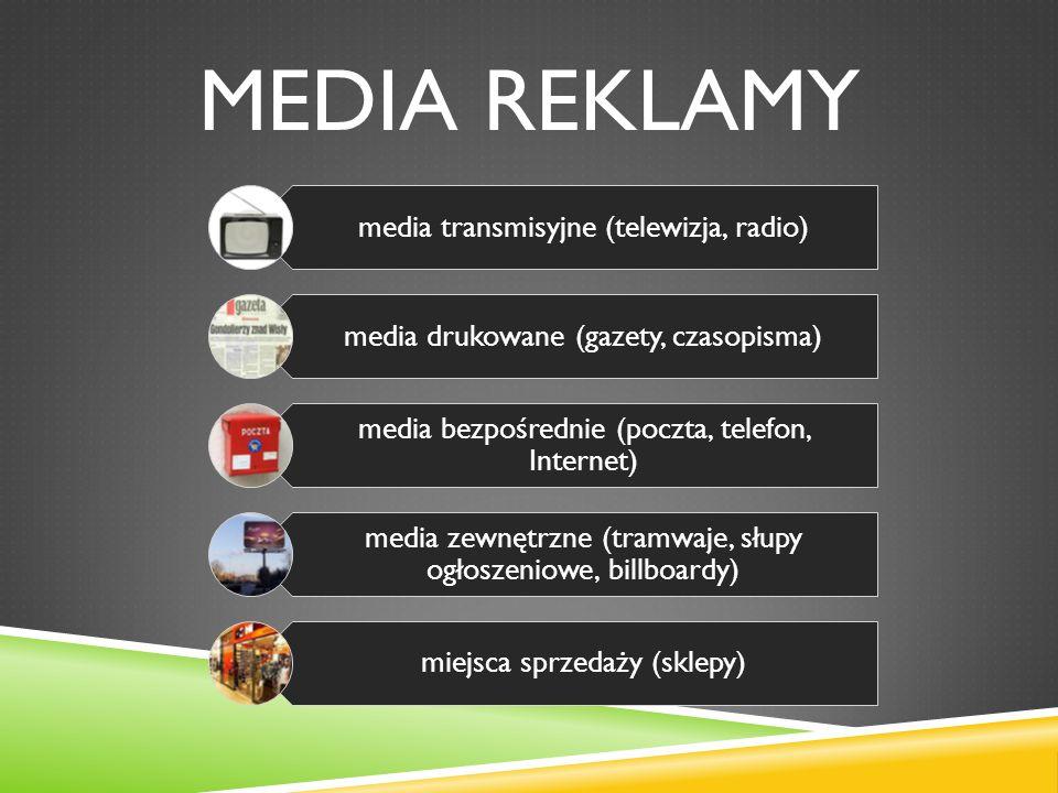Media reklamy media transmisyjne (telewizja, radio)