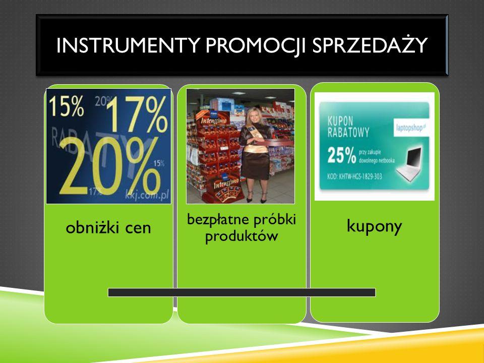 Instrumenty promocji sprzedaży