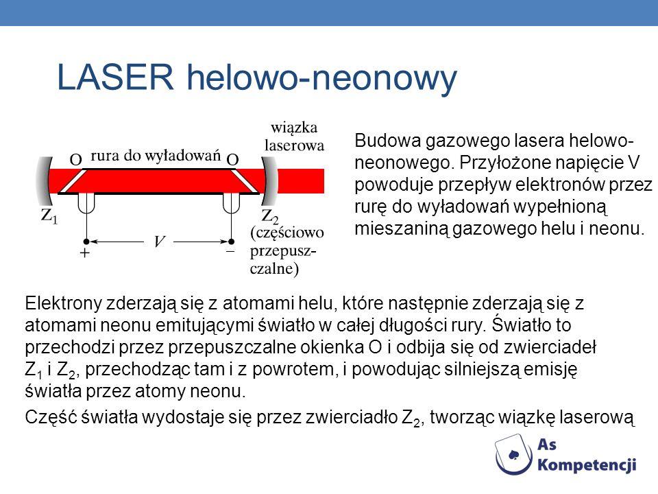 LASER helowo-neonowy
