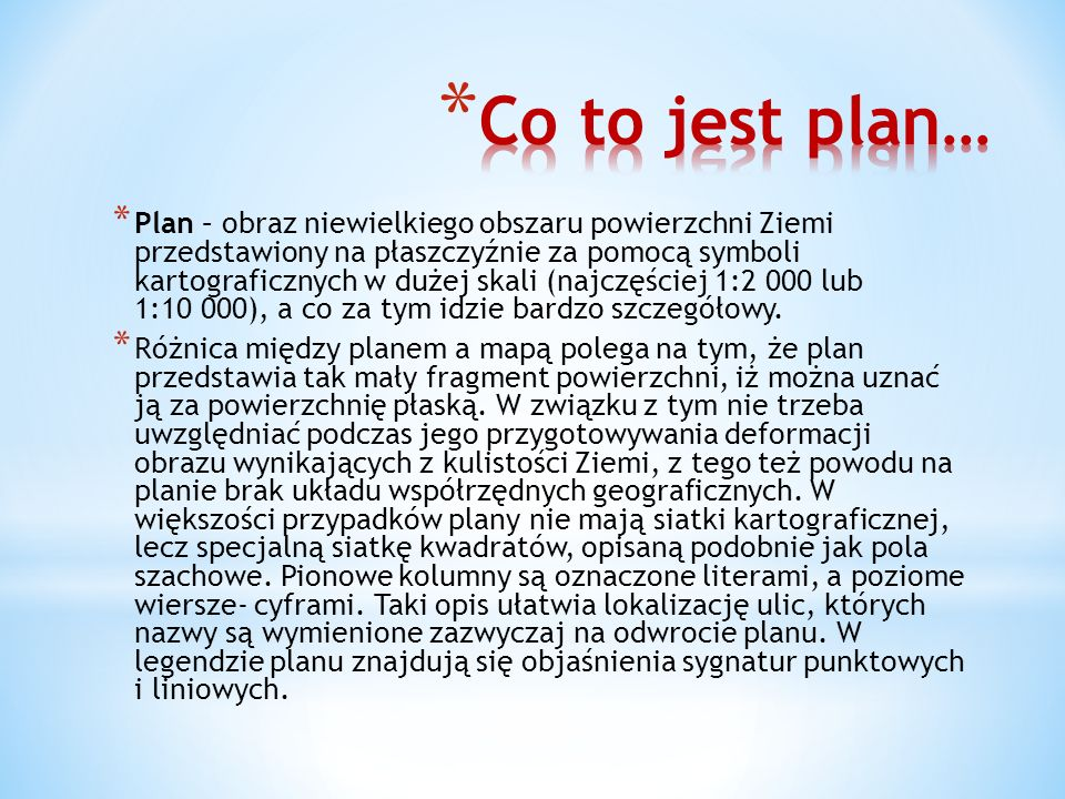Co to jest plan…