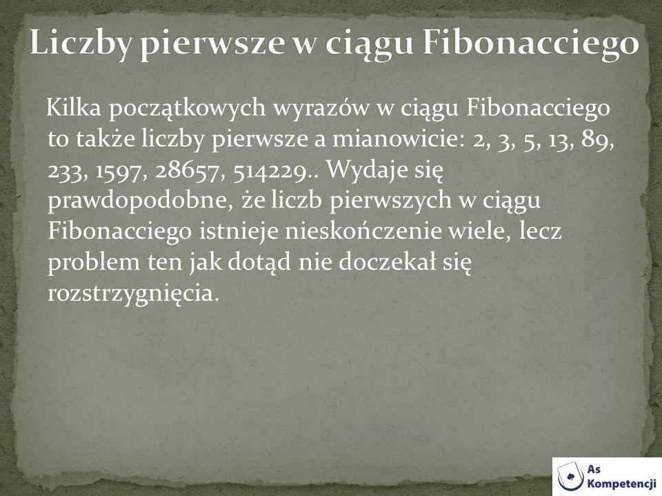 Liczby pierwsze w ciągu Fibonacciego