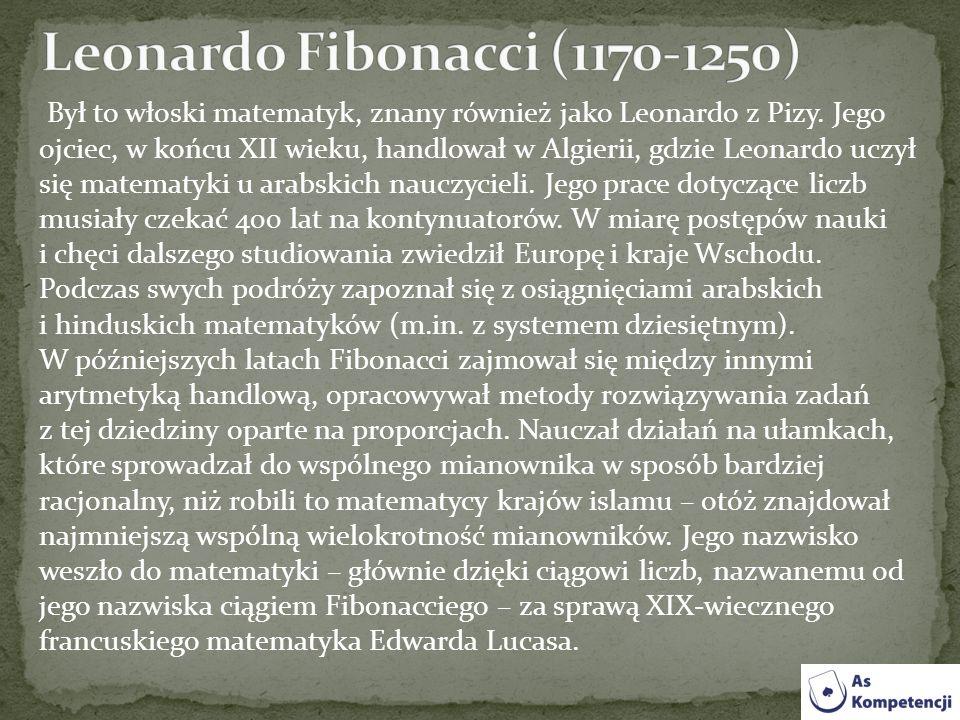 Leonardo Fibonacci (1170-1250)