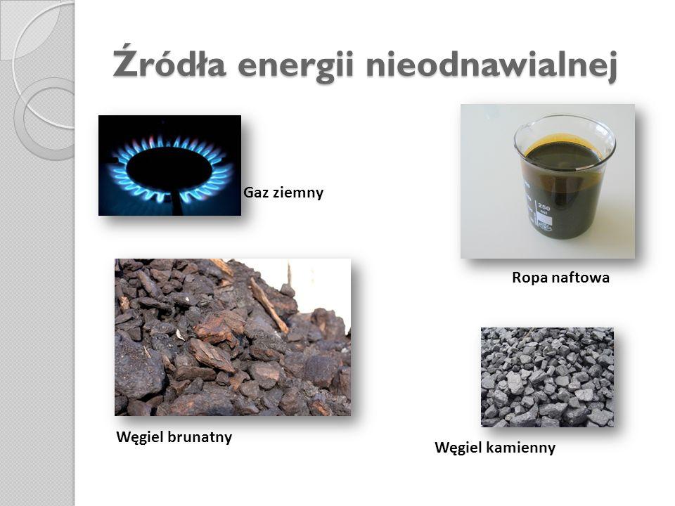 Źródła energii nieodnawialnej