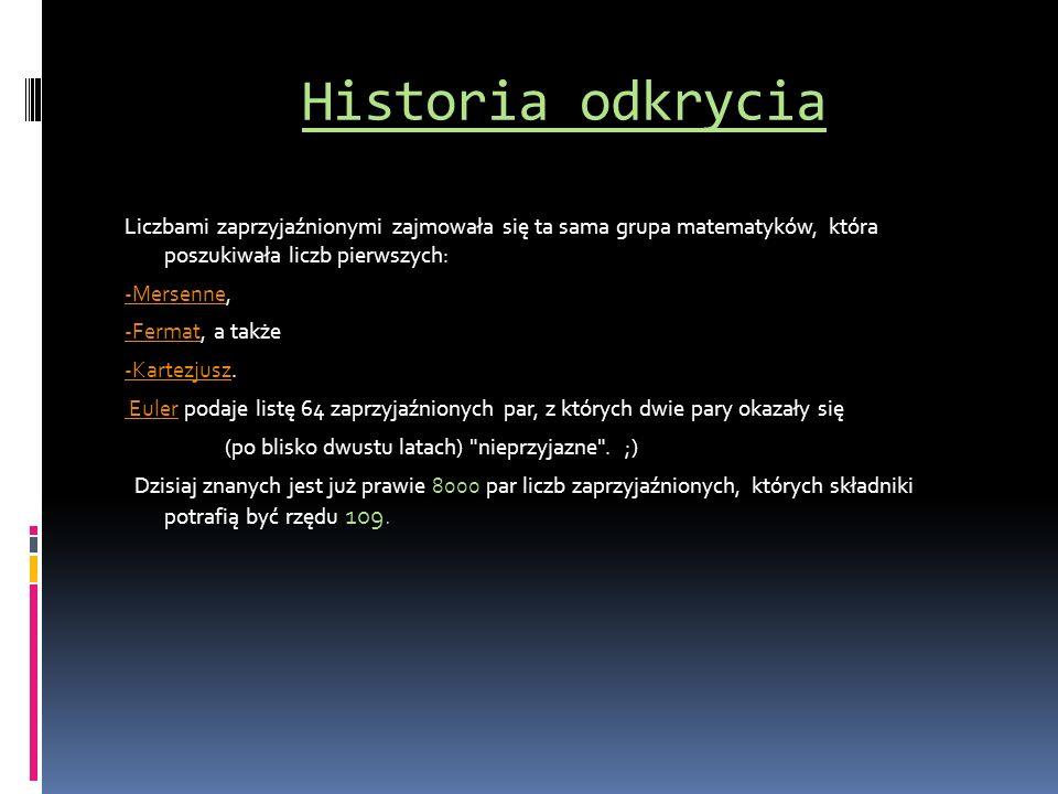 Historia odkrycia