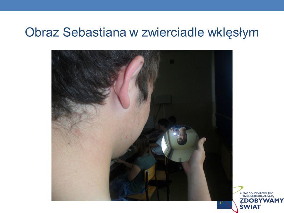 Obraz Sebastiana w zwierciadle wklęsłym