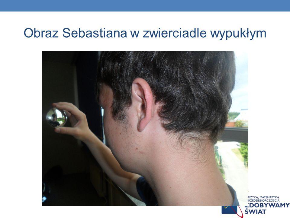 Obraz Sebastiana w zwierciadle wypukłym