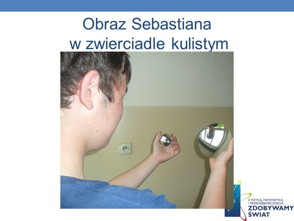 Obraz Sebastiana w zwierciadle kulistym