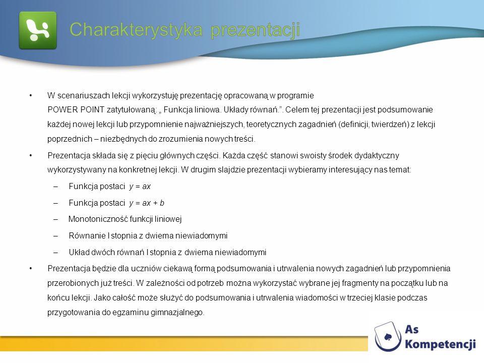 Charakterystyka prezentacji