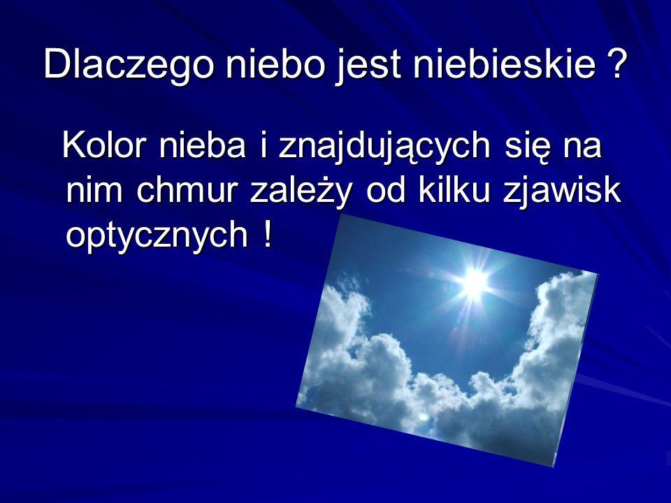 Dlaczego niebo jest niebieskie