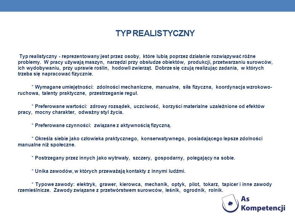 TYP REALISTYCZNY